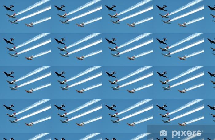 Papier peint vinyle sur mesure Air show - Villes d'Asie
