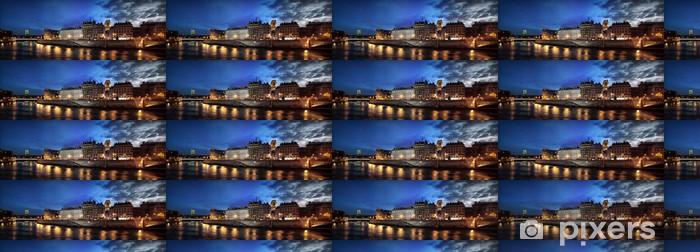 Vinyltapete nach Maß Docks blau Waden - Themen