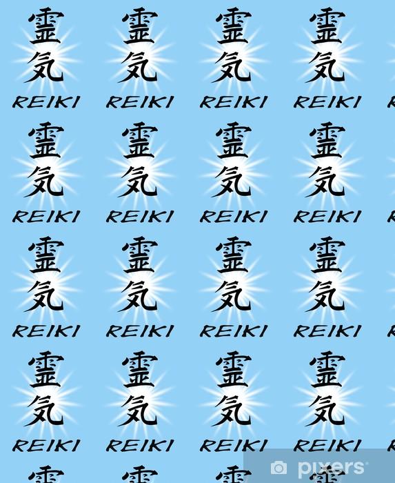 Vinylová tapeta na míru Reiki, Schriftzug - Značky a symboly
