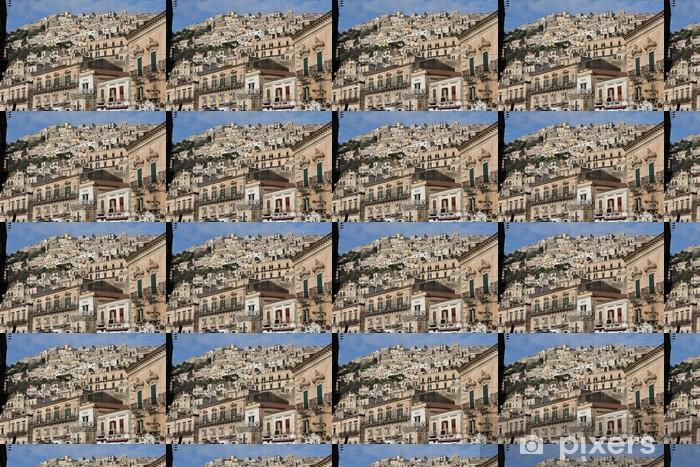 Papier peint vinyle sur mesure Modica - Paysages urbains