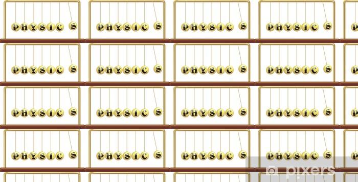 Papier peint vinyle sur mesure Physique - berceau de l `newton - Sciences fondamentales et appliquées