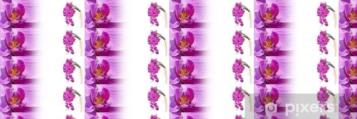 Tapeta na wymiar winylowa Bannière orchidée róża - Uroda i pielęgnacja ciała