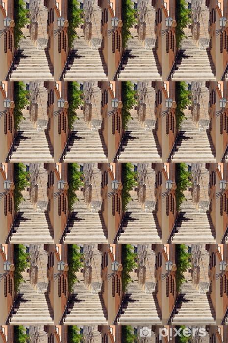 Vinylová tapeta na míru Calle de tipica Altafulla, Tarragona, España - Témata