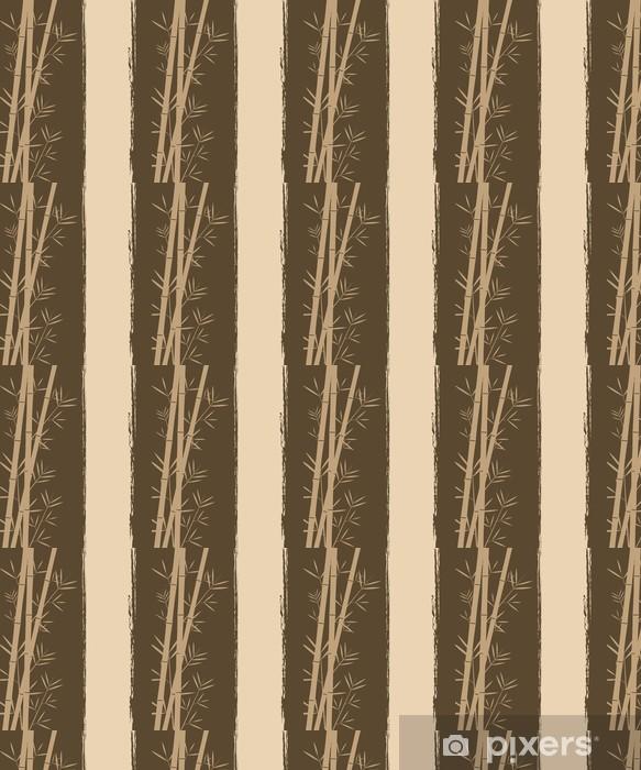 Papier peint vinyle sur mesure Bamboo vecteur backgorund - Beauté et soins du corps