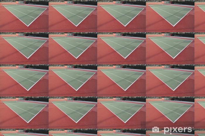 Papier peint vinyle sur mesure Tennis court - Sports individuels