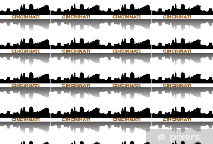 Vinylová tapeta na míru Cincinnati panorama. - Amerika