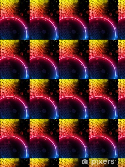 Tapeta na wymiar winylowa Disco grono Box Streszczenie na czarnym tle - Tła