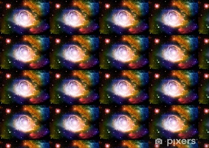 Vinyltapete nach Maß Galaxien und Sterne in den Nachthimmel - Universum