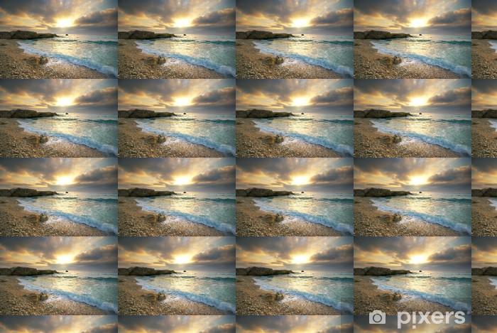 Vinyltapete nach Maß Beautiful seascape - Wasser