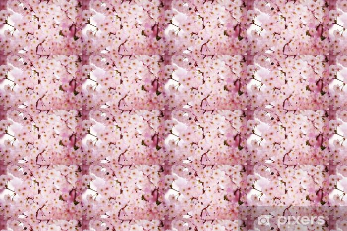 Papier peint vinyle sur mesure Rose sacura - Fleurs