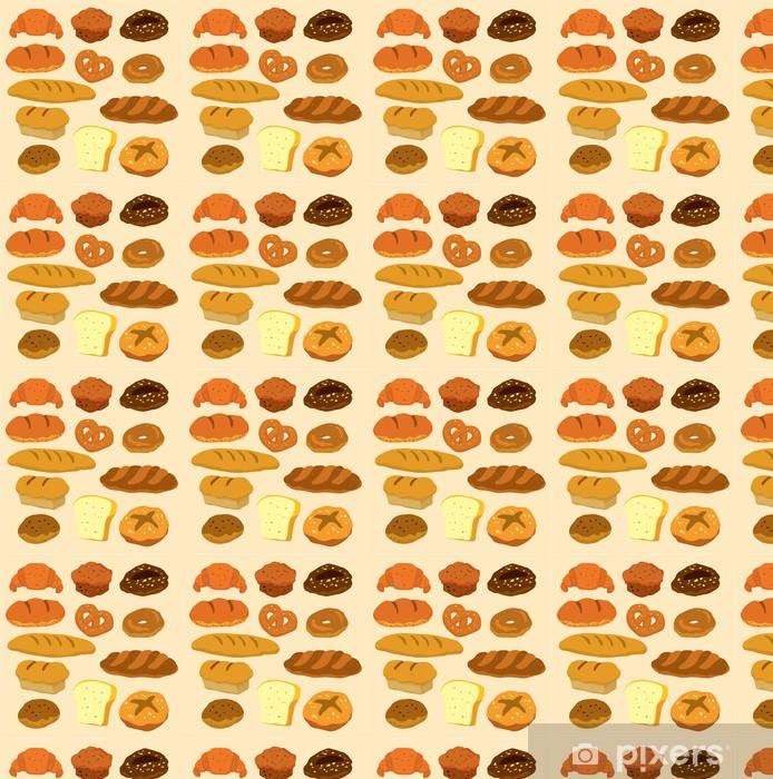 Vinylová tapeta na míru Karikatura ikona chléb - Jídla