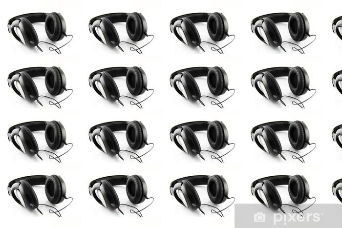 Tapeta na wymiar winylowa Słuchawki - Muzyka