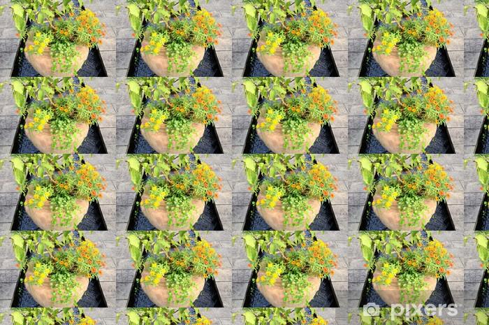 Tapeta na wymiar winylowa Trawa i kwiaty roślin - Natura i dzicz