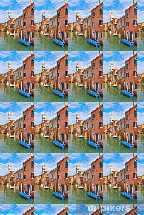Tapeta na wymiar winylowa Kanał w Wenecji w słoneczny dzień - Miasta europejskie