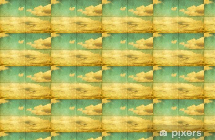 Papier peint vinyle sur mesure Cloudy sky - Ciel