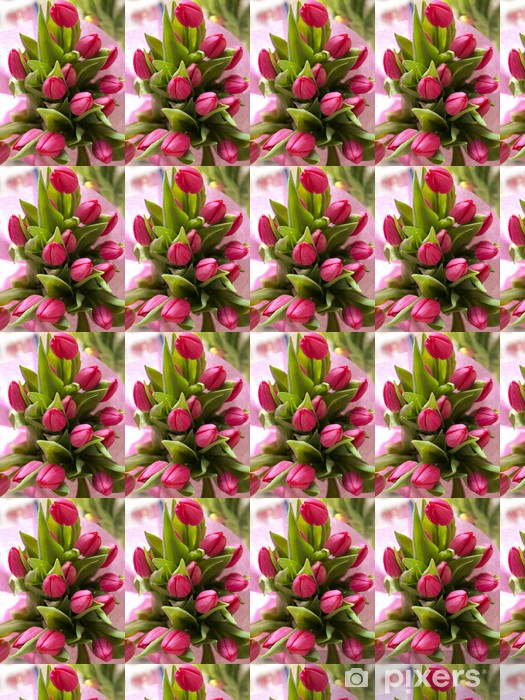 Papier peint vinyle sur mesure Bukiet tulipanów - Bonheur