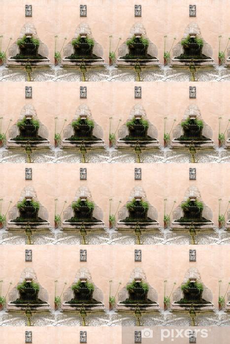 Papier peint vinyle sur mesure Fontaine des jardins d'Alfàbia à Bunyola - Majorque - Europe