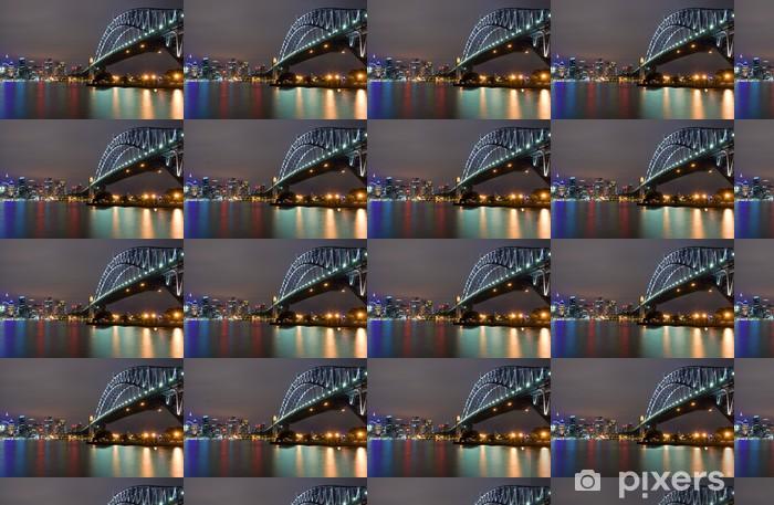 Tapeta na wymiar winylowa Sydney Harbour Bridge w nocy - Tematy