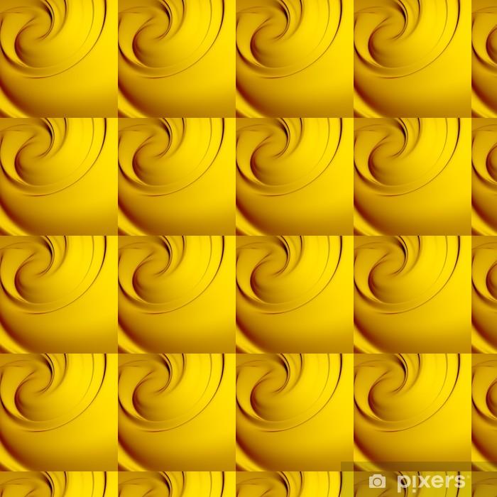 Vinyltapete nach Maß Abstract yellow Whirlpool. Hintergründe Serie. - Hintergründe