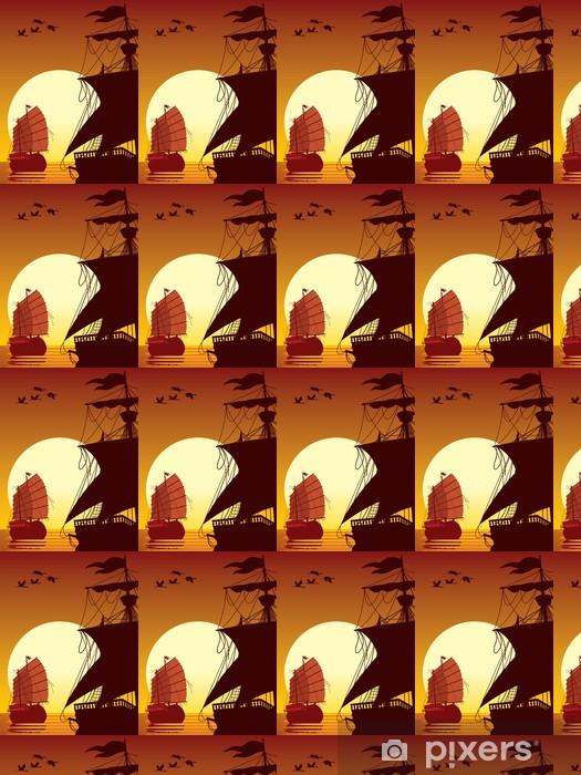 Vinyltapete nach Maß Segeln in der Sonne - Asien