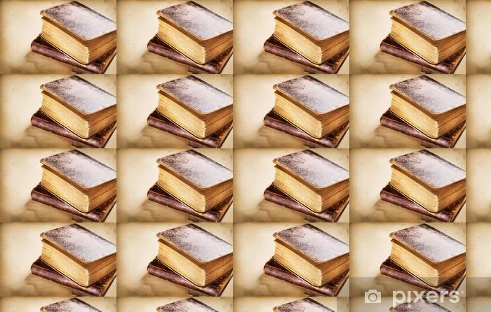 Vinyltapete nach Maß Sehr altes Buch Großansicht - Texturen