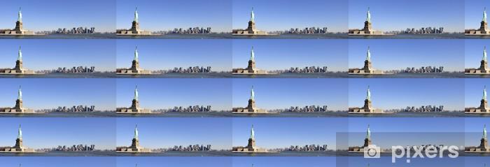 Vinyltapete nach Maß New-york-Panorama - Amerikanische Städte