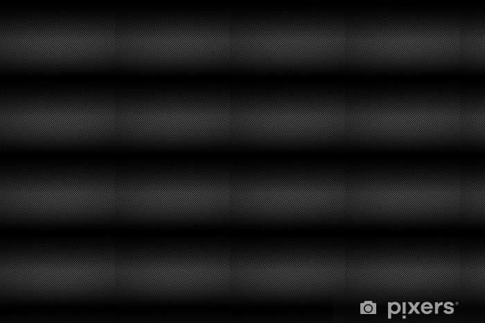 Papel pintado estándar a medida Plantilla de fibra de carbono de textura - Industria pesada