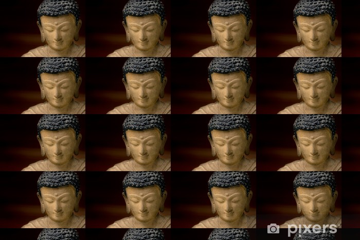 Tapeta na wymiar winylowa Close-up obraz twarzy Buddy w brązu, z Nepalu. - Tematy