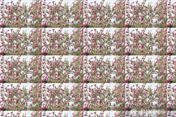 Papier peint vinyle sur mesure Magnolia - Saisons