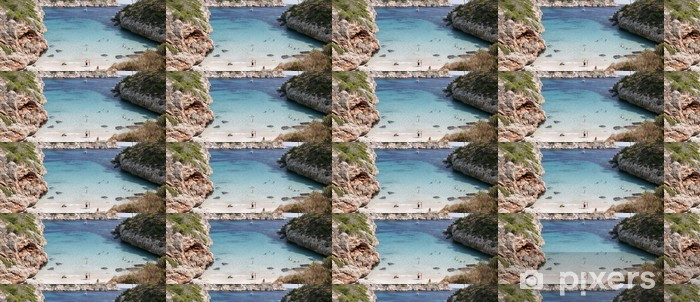 Mallorca Vinyl custom-made wallpaper - Islands