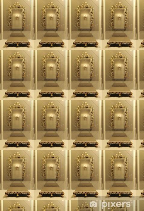 Tapete Königliche Spiegel Mit Goldrahmen In Luxury Interior Pixers