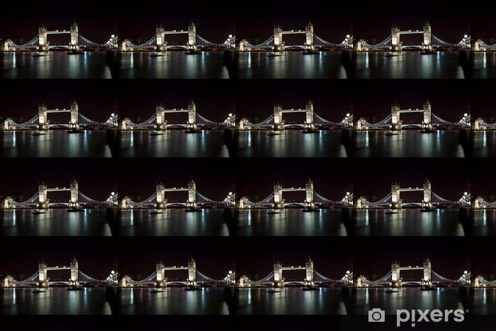 Tapeta na wymiar winylowa London Tower Bridge w nocy - Tematy