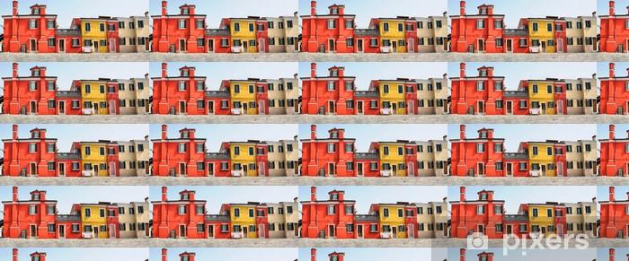 Papier peint vinyle sur mesure Burano - Villes européennes
