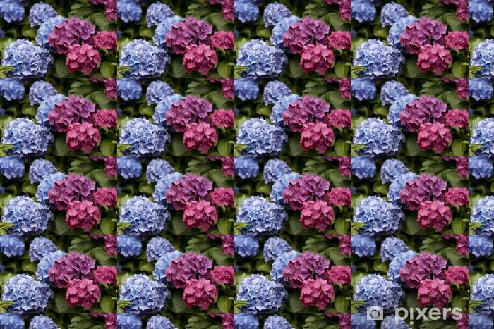 Tapeta na wymiar winylowa Blooming Hydrangea - Pory roku