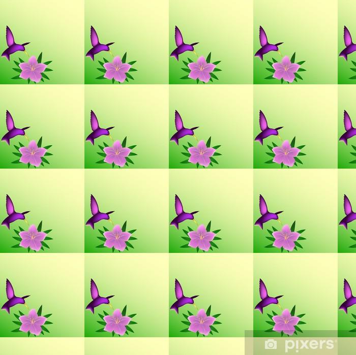 Tapeta na wymiar winylowa Koliber tle - Ptaki