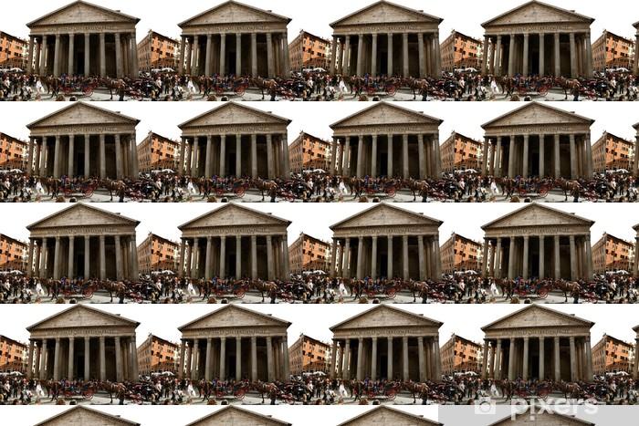 Papier peint vinyle sur mesure Rom - Villes européennes