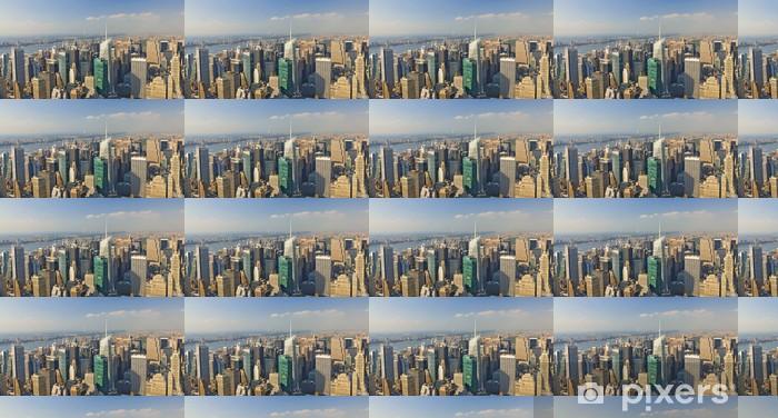 Vinylová tapeta na míru Panoramica Manhattan, Nueva York - Americká města