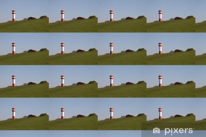 Tapeta na wymiar winylowa Lighthouse Under Fire, Krautsand - Wakacje