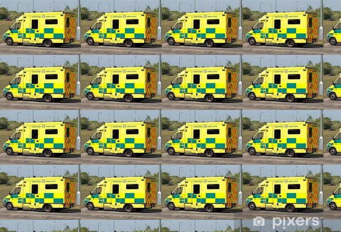 Papier peint vinyle sur mesure Ambulance d'urgence - Santé et médecine