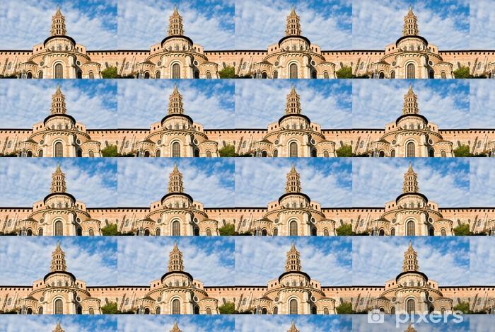 Papier peint vinyle sur mesure St Sernin à Toulouse - Europe