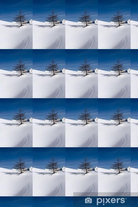 Vinyltapete nach Maß Solitude Winter - Jahreszeiten