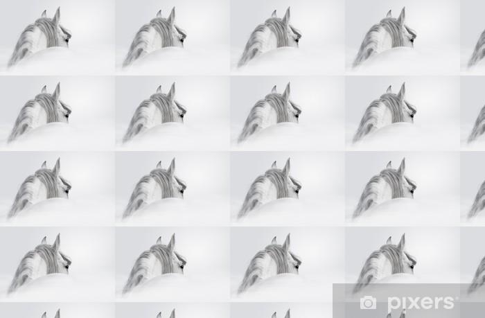 Tapeta na wymiar winylowa Andaluzyjski Koń w mgle - iStaging
