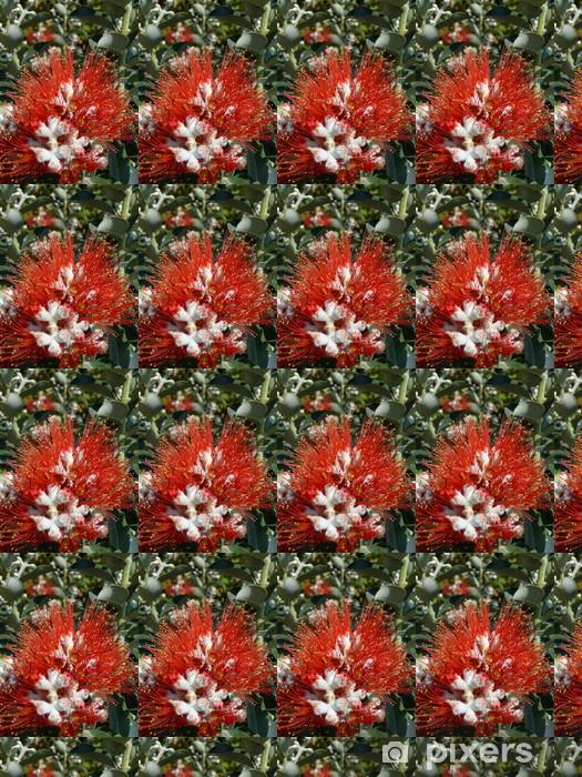 Vinyl behang, op maat gemaakt Fleur de Pohutukawa - POHUTUKAWA - Bloemen