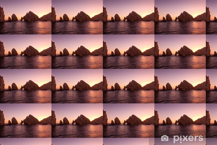 The Arch at Land's End during Sunset, Cabo San Lucas, Mexico Vinyl custom-