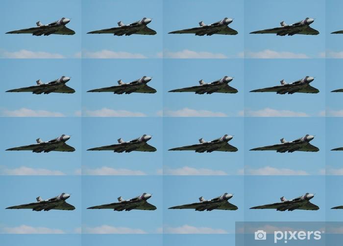 Papier peint vinyle sur mesure Bomber Voulcan - Dans les airs