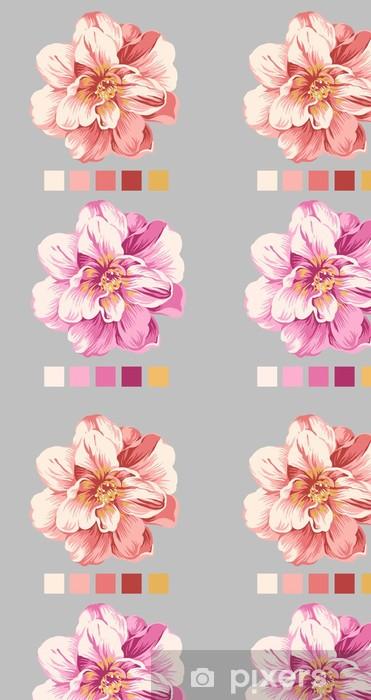 Vinylová Tapeta Hand drawn flower 04 - Témata