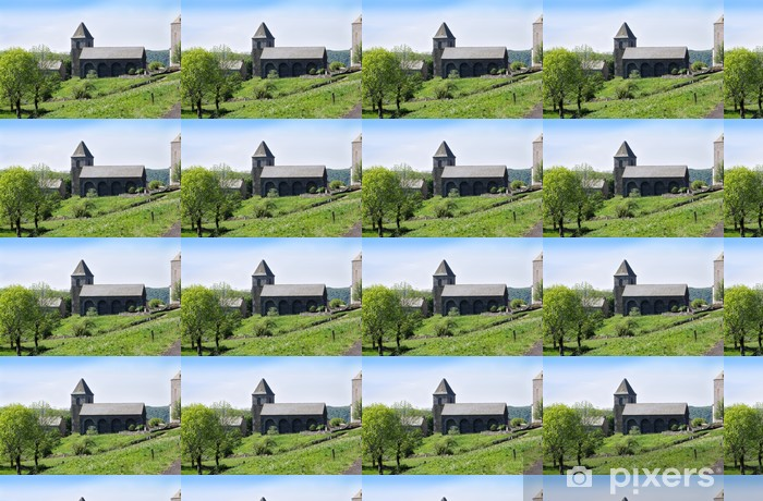 Vinylová tapeta na míru Kostel Eglise Notre Dame des Pauvres, Aubrac, Aveyron. - Prázdniny