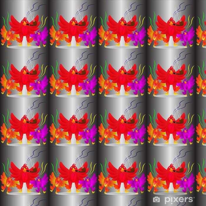 Papier peint vinyle sur mesure Angry Birds - Arrière plans