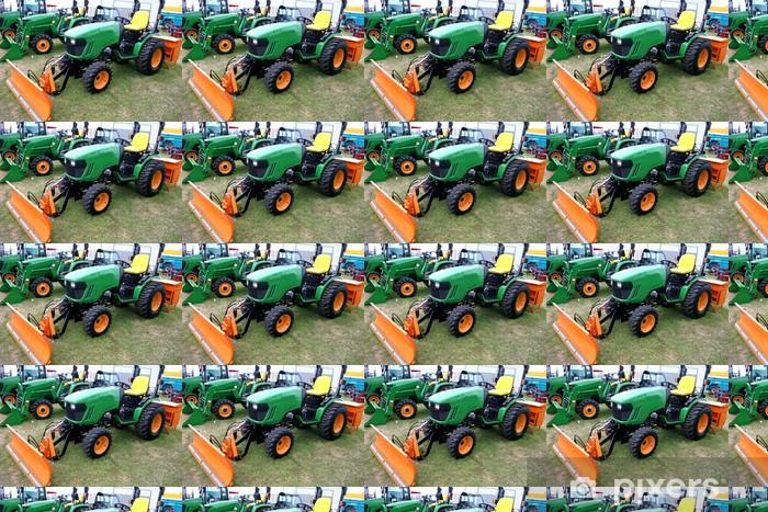 Papier peint vinyle sur mesure Tracteurs agricole - Agriculture