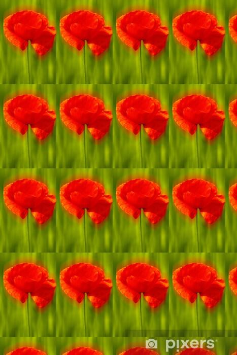 Tapeta na wymiar winylowa Klatschmohn - Kwiaty